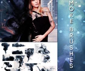 Smoke fashion photoshop brushes