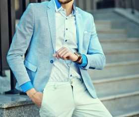 Street casual wear for men Stock Photo 02