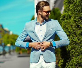Street casual wear for men Stock Photo 03