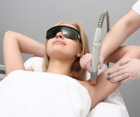 Underarm laser hair removal HD picture