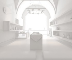 White space Stock Photo