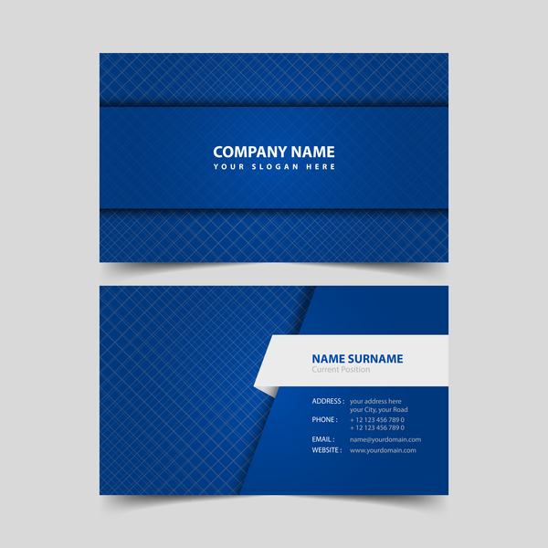 White with blue business card remplate vector free download white with blue business card remplate vector colourmoves