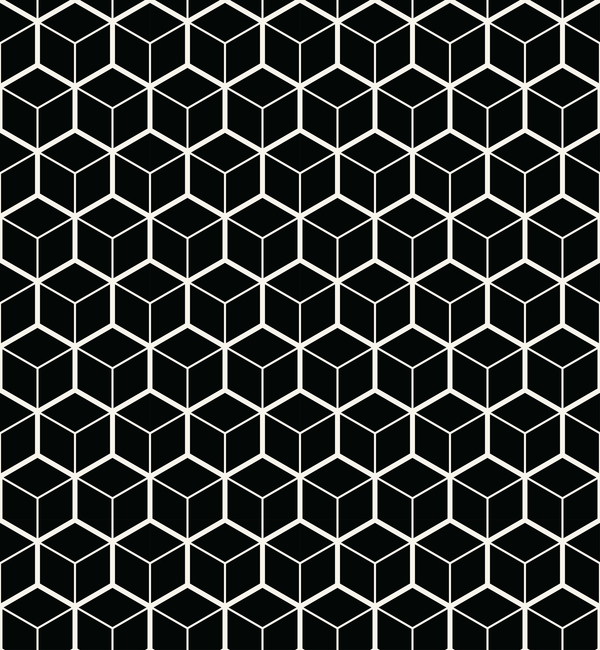 black and white art pattern halftone vector 03