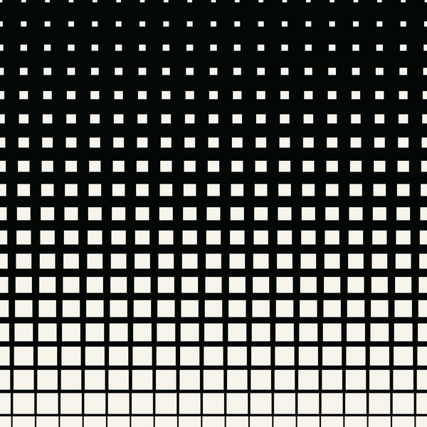 black and white art pattern halftone vector 10