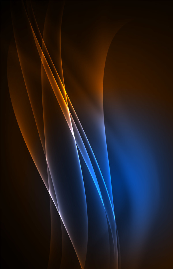 brown with blue light abstract background vector 01