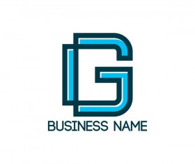 business name logo vector