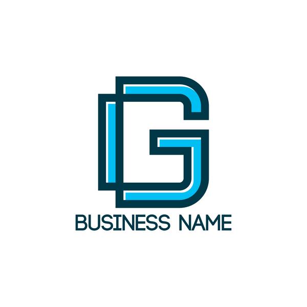 business name logo vector