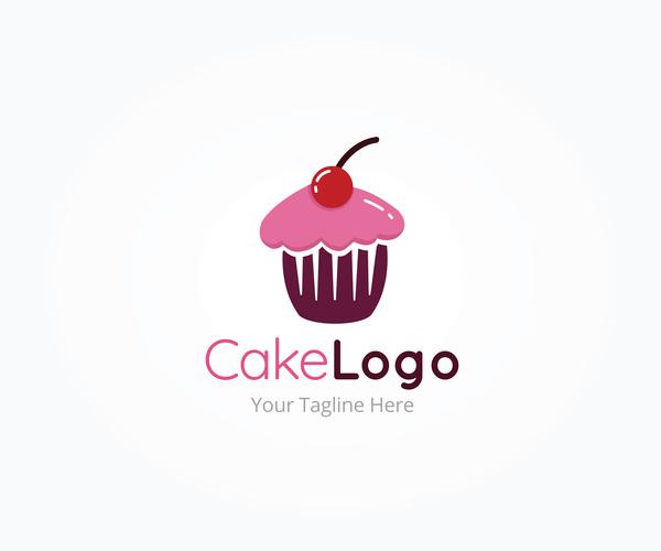 Cake Logo Vector Design Free Download