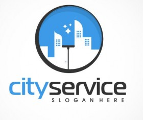 city service logo vector