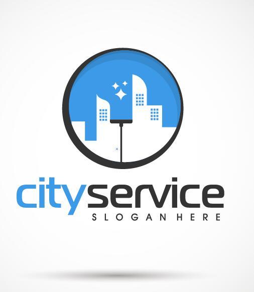 city service logo vector
