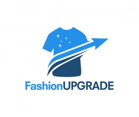 fashion upgrade logo vector