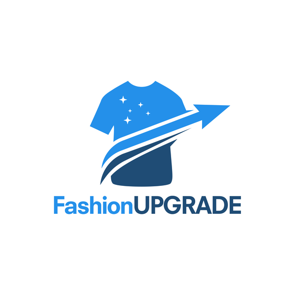 fashion upgrade logo vector