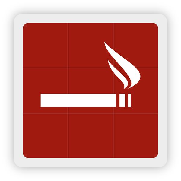 smoking icon vector