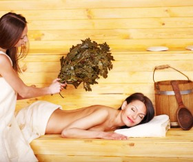 wash sauna sisters Stock Photo 10