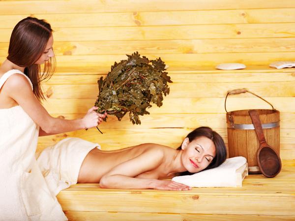 wash sauna sisters Stock Photo 10