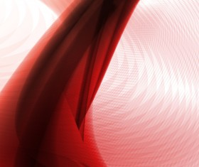 Abstract background with red lines wavy vector 01