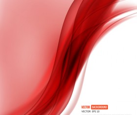 Abstract background with red lines wavy vector 02