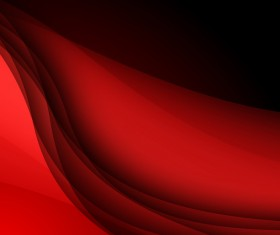 Abstract background with red lines wavy vector 04