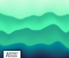 Abstract colors fluid effect background vector 02