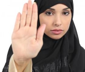 Arab woman Stock Photo 03
