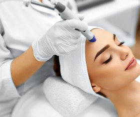 Beautician for customer beauty services Stock Photo 08