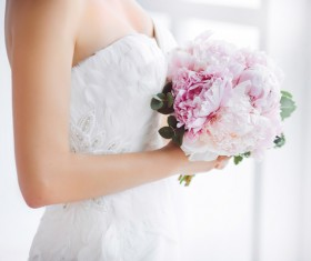 Beautiful and charming bride Stock Photo 02