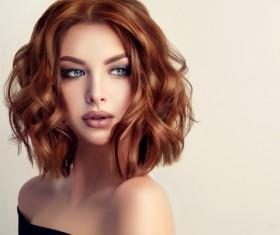 Beautiful makeup young woman Stock Photo 10