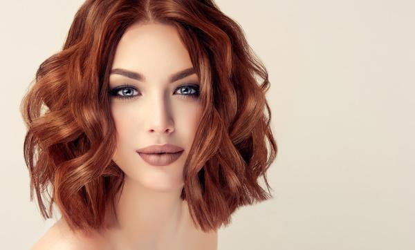 Beautiful makeup young woman Stock Photo 11