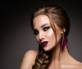 Beautiful makeup young woman Stock Photo 15