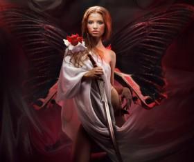 Beautiful woman art photo Stock Photo 01