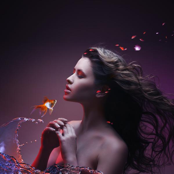 Beautiful woman art photo Stock Photo 03