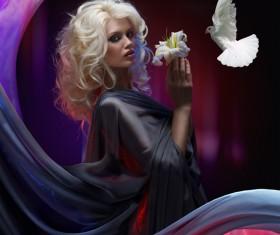 Beautiful woman art photo Stock Photo 06