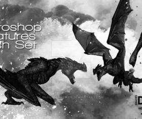 Big Dragon Photoshop Brushes