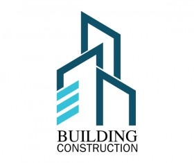 Building construction logo vector