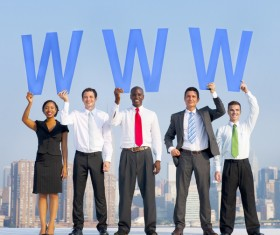 Business Teamwork Stock Photo 01