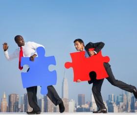 Business Teamwork Stock Photo 02