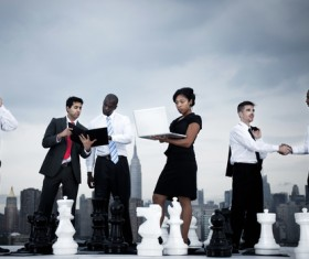 Business Teamwork Stock Photo 04