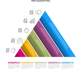 Business strategy infographic template vector 04
