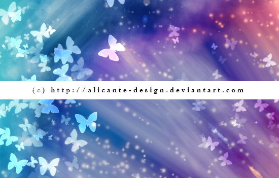 Butterfly Bokeh Photoshop Brushes
