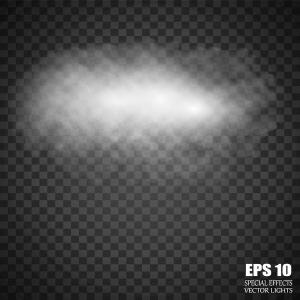 Clouds illustration vectors material 01