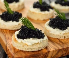 Delicious caviar Stock Photo 02