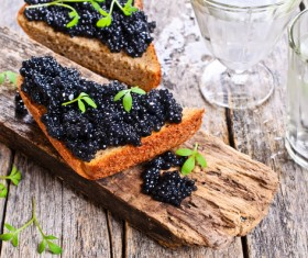 Delicious caviar Stock Photo 07