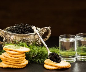 Delicious caviar Stock Photo 08