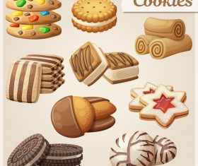 Different cookie vector 01
