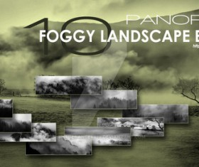 Foggy Landscapes Photoshop Brushes