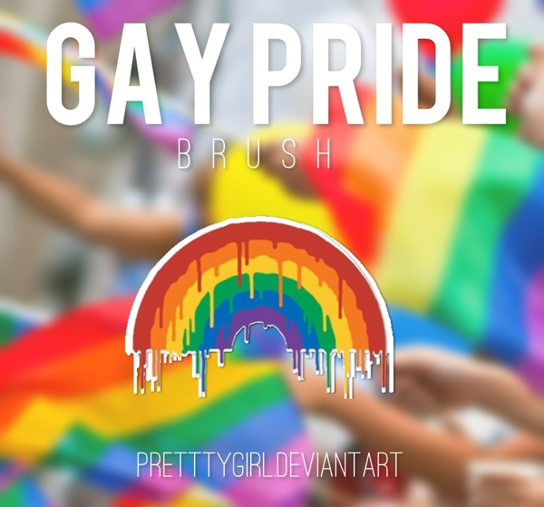 GAY PRIDE Photoshop Brushes