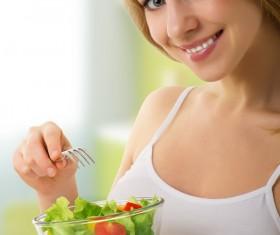 Girl Healthy Lifestyle Stock Photo 01