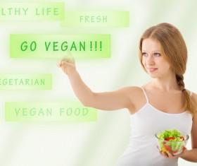 Girl Healthy Lifestyle Stock Photo 02