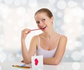 Girl Healthy Lifestyle Stock Photo 04
