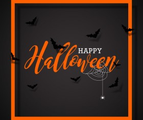 Halloween sale background black vector 04